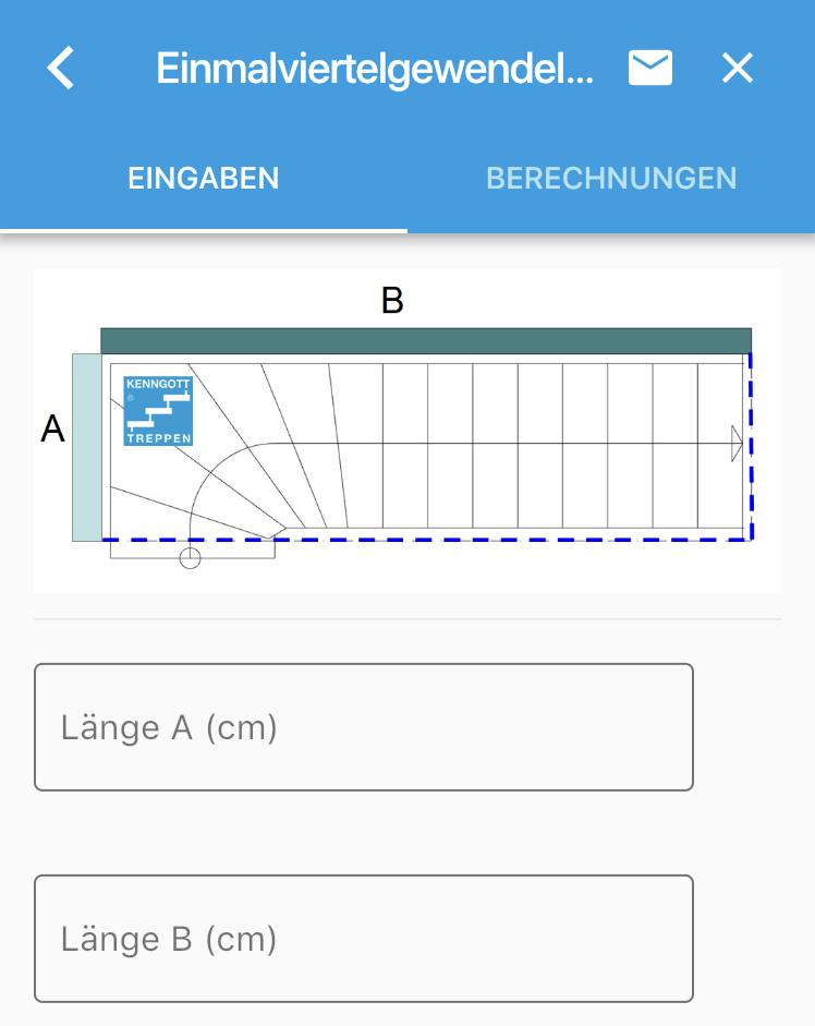 KENNGOTT Treppen Planungshilfe App