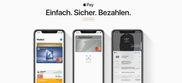 Apple Pay Ankündigung