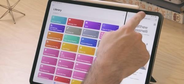 iPad Gesten
